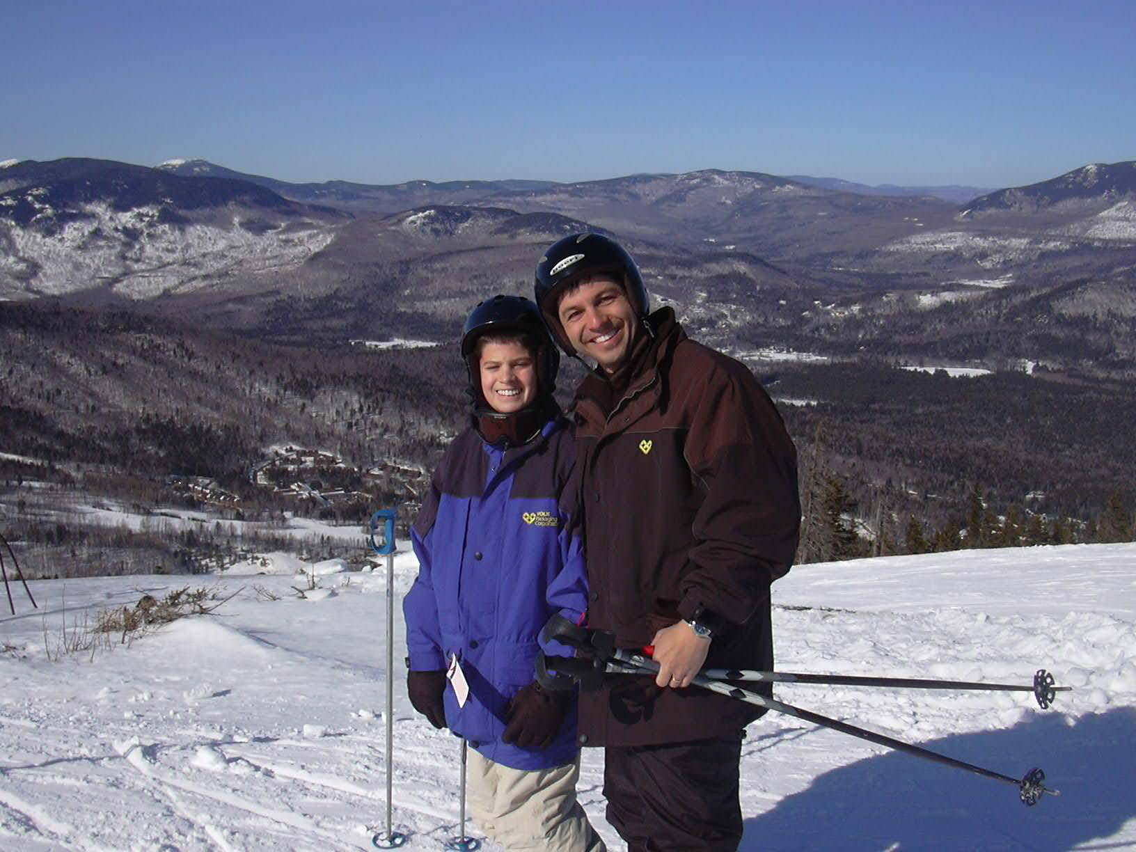 Dylan & Dad at Sunday River - Mar05