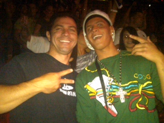 Dylan and Derek at Chris Brown -