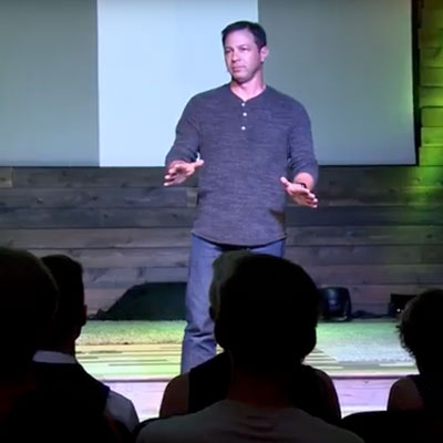 Derek Volk speaks in Denver, Colorado on the topic of connecting with your unexpected child